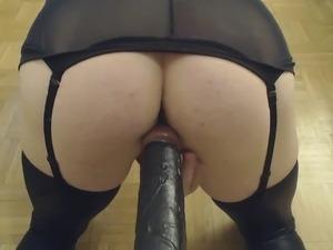 gaping black anal holes