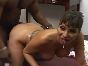 shaved pussy and black cocks