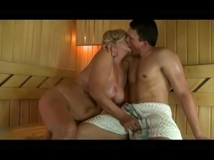sauna sex girl
