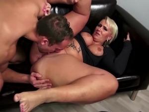 Big tits boss mason