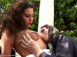 young girls and old waman sex