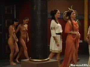 naked young slave girls