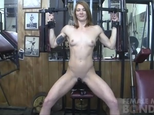 naked russian girl gym