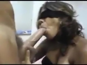 blonde milf sucking black cocks