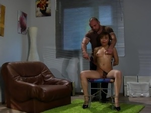 nude black slave girl punished