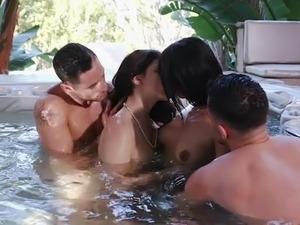 foursome pornography video