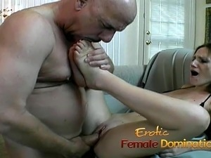 Naughty stallion licks a pussy before getting fucked really