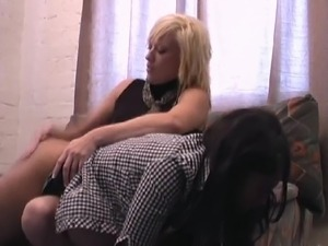 daughter spank porn video