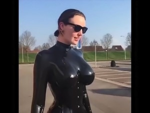 free latex fingering video