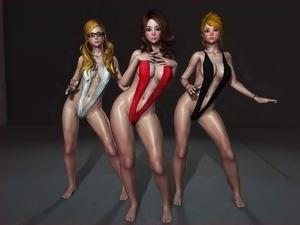 big tit girls dancing naked