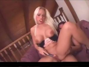 blonde babe anal