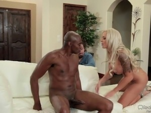 black guy fucking girl