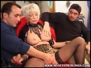 Girl getting pussy pierced