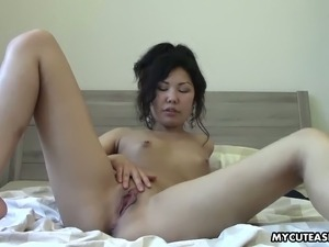 asian girl solo bangs