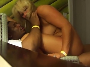 blonde wife shared porn