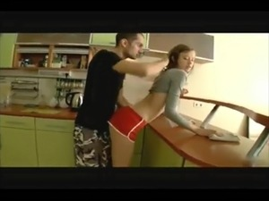 Sex in the kitchen video