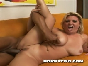 white wife sucks big black cock