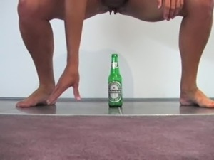 porn movies with champagne bottle