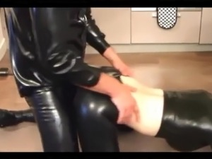 latex girls having sex