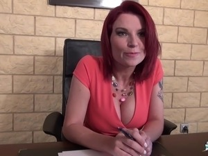 free office boss sex video
