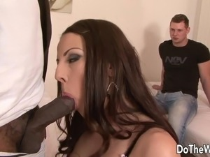 black guy fuck me wife