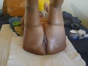german young wife kissing