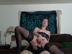 petite blonde riding cock
