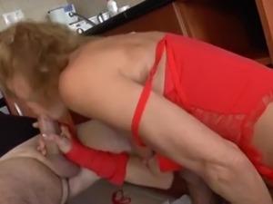 mature anal granny