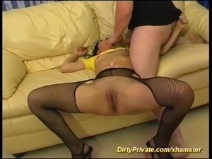 milf first anal video