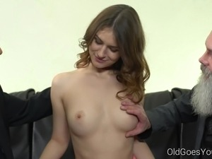 Huge old breasts