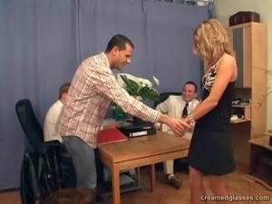 free naked secretary videos