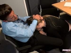young secretaries porn video