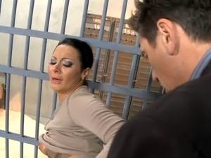 ebony sex in jail
