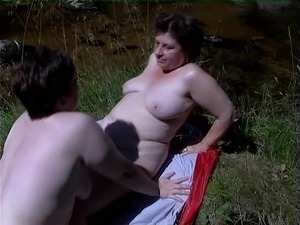 mature lesbian strap on sex movies