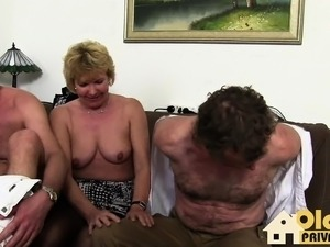 wife gets fucked at swingers oarty