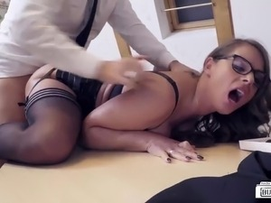 office lesbian sex videos