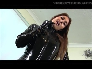 young girls in pvc