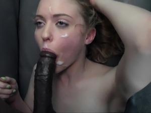 black guy eats white pussy