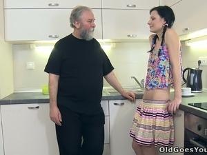 free kitchen softcore video