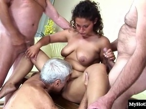 housewives gangbang interracial