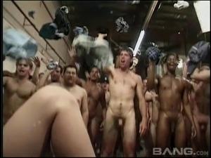 black anal gangbangs