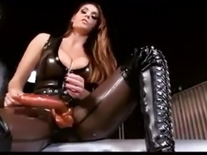 latex handjob movie free