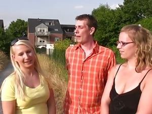 watch blonde peephole video
