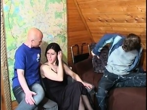 young threesome video porn