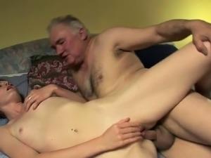 old man fucks younger girl