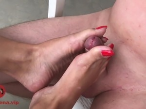 asian footjob gallery