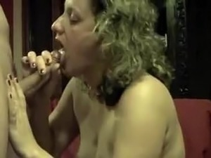 Cumming in the mouth