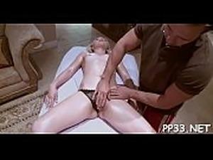 bare butt anal massage