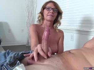 slow handjob blowjob video
