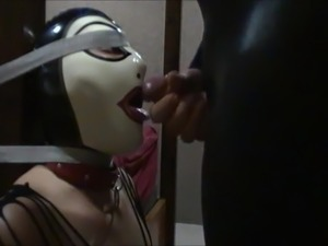 caught wife getting facial